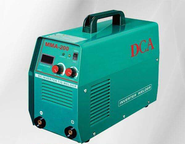 دستگاه جوش DCA مدل MMA200 - قیمت دستگاه جوش اینورتر ارزان