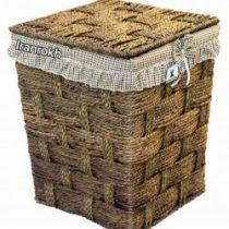 سبد رخت مربع کوچک کد 182
