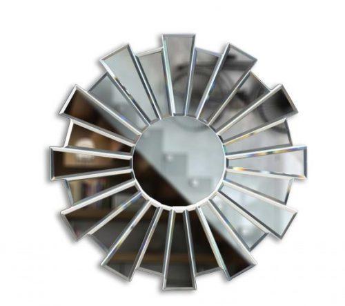 آینه دکوراتیو سفید کد 17001MW60