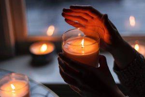 ایده های استفاده از شمع در دکوراسیون