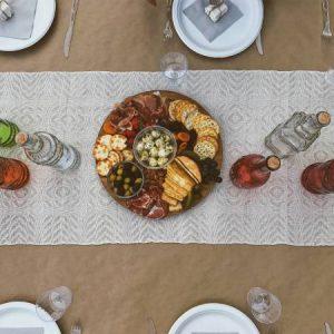 اصول چیدمان میز برای مهمانی